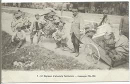54è Régiment D' Infanterie Territoriale - Campagne 1914-1915 - War 1914-18