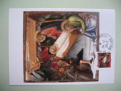 Carte Maximum  Scénes De La Vie Du Christ .  La Nativité   Mariotto Di Nardo - Kunst