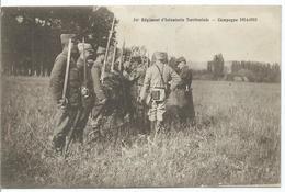 54è Régiment D' Infanterie Territoriale - Campagne 1914-1915 - Weltkrieg 1914-18