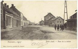 HEMIXEM - Statie Plaats  -  Place De Le Station  - La Gare - Hemiksem