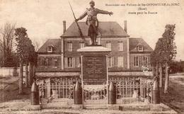 Monument Aux Enfants De SAINTE OPPORTUNE Du BOSC Morts Pour La France - France
