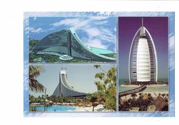 Cpm - DUBAI - United Arab Emirates - JUMEIRAH BEACH HOTEL & BURJ AL ARAB N°345 - Fifiya TRDG Est - Dubai