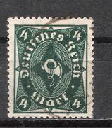 Reich N° 207 Oblitéré Michel N° 226b Attesté Infla Berlin Au Dos - Allemagne