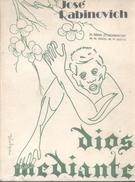 DIOS MEDIANTE LIBRO POESIA POETRY AUTOR JOSE RABINOVICH NUEVAS EDICIONES ARGENTINAS 149 PAGINAS AÑO 1976 - Poesía