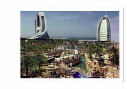 Cpm - DUBAI - United Arab Emirates - JUMEIRAH BEACH HOTEL & BURJ AL ARAB N°347 - Fifiya TRDG Est - Dubai