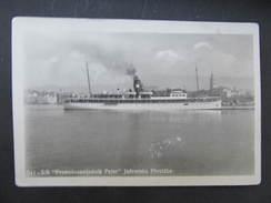 AK JADRANSKA PLOVIDBA Petar Schiff Ca.1930 //  D*22237 - Croatia