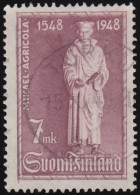 FINLAND - Scott #276 Statue Of Mikael Agricola / Used Stamp - Finland