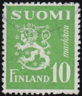 FINLAND - Scott #302 Arms Of The Republic (*) / Used Stamp - Finland