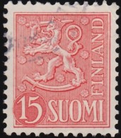 FINLAND - Scott #317 Coat Of Arms (*) / Used Stamp - Finland