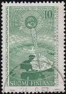 FINLAND - Scott #332 Telegraph In Finland, 100th Anniv. / Used Stamp - Finland