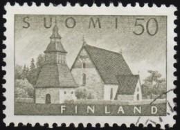 FINLAND - Scott #338 Lammi Church (*) / Used Stamp - Kirchen U. Kathedralen