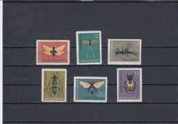 Bulgarie - Neufs** - Année 1964 - Insectes Divers - YT 1247/1252 - Bulgaria