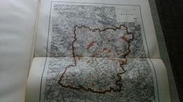 Ancienne Carte De La Mayenne Atlas Forestier De La France 1889 Forêt - Cartes