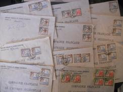 Gambie , Lot De 11 Lettres Des Annees 60 - Gambia (...-1964)