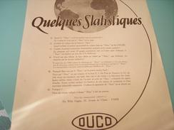 PUBLICITE DUCO 1925 - Transportation