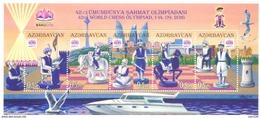 2016. Azerbaijan, 42nd World Chess Olympiad '2016, S/s, Mint/** - Azerbaïjan