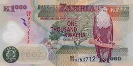 ZAMBIA 1000 KWACHA 2011 P-44h UNC [ZM146h] - Zambie
