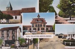 Les Clayes Sous Bois 78 - Eglise Avenue Du Bois Mairie Hotel Centre Vol à Voile - Les Clayes Sous Bois