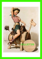 PIN-UPS, FEMMES - GIL ELVGREN, SITTING PRETTY, LOLA, 1955 - BROWN & BIGELOW INC - BENEDIKT TASCHEN, COLOGNE, AL. - - Pin-Ups