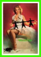 PIN-UPS, FEMMES - ED RUNCI, THEY'RE EASY TO HANDLE, 1959 - BROWN & BIGELOW INC - BENEDIKT TASCHEN, COLOGNE, AL. - - Pin-Ups