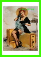 PIN-UPS, FEMMES - GIL ELVGREN, WELCOME TRAVELER, 1955 - BROWN & BIGELOW INC - BENEDIKT TASCHEN, COLOGNE, AL. - - Pin-Ups
