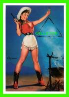 PIN-UPS, FEMMES - GIL ELVGREN, COME & GET IT, 1959 - BROWN & BIGELOW INC - BENEDIKT TASCHEN, COLOGNE, AL. - - Pin-Ups