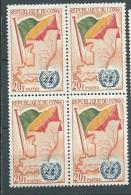 Congo Brazzaville     - Yvert N° 140 **    Bloc De 4 - Cw 21507 - Congo - Brazzaville