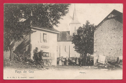 CPA Pays De Gex - Péron - Vue Sur L'Église - Autres Communes