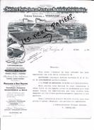 18 - Cher - VIERZON - Facture Sté FRANCAISE DE MATERIEL AGRICOLE ET INDUSTRIEL - 1924 - REF 58A - France