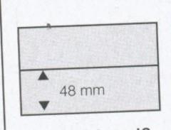 SAFE   33  Einsteckkarten 7001 DIN A6 - Klemmbinder