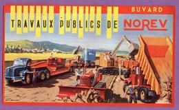 Buvard Norev Travaux Publics 19.5 Cm X 11.5 Cm - Transport