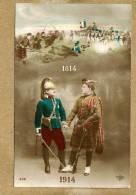 Militaria.  L'entente Cordiale, 1814-1914 - Patriotiques
