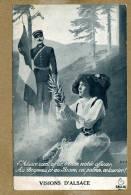 Militaria.  L'Alsace, Au Drapeau Et Aux Braves - Patriotiques