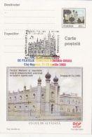 55417- CLUJ NAPOCA SYNAGOGUE, JEWISH, POSTCARD STATIONERY, 2000, ROMANIA