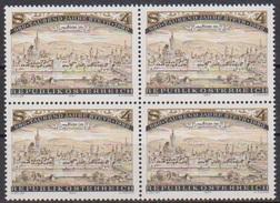 Österreich 1980 Nr.1645 4er Block ** Postfrisch 1000 Jahre Stadt Steyr ( 4265 ) - 1945-.... 2ª República