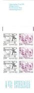 Europa CEPT 1989 Suède - Sweden - Schweden Yvert 1522/1523** Michel1 1550/1551** Carnet Complet/booklet - Europa-CEPT