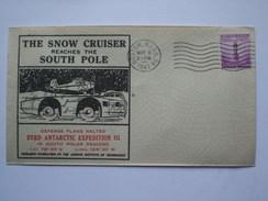 USA 1941 COVER THE SNOW CRUISER REACHES THE SOUTH POLE - Briefe U. Dokumente