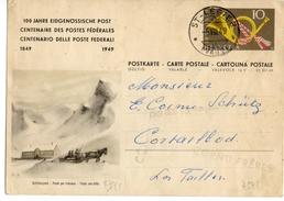 Simplon Hospitz - Schlittenpost - Postwaardestukken