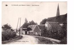 36 Chalais Par Bélabre Vue Générale Edit Bernon-Dauphin à Belabre Cpa écrite En 1918 - France