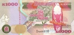 ZAMBIE 1000 KWACHA 1992 (1996) P-40a NEUF [ZM141a] - Sambia