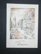 Ref5622 Carte Parfumée Au CANOE - Parfum Dana Paris (AB) - Perfume Cards