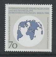 TIMBRE NEUF DE BERLIN - ASSEMBLEE ANNUELLE DES GOUVERNEURS DU FONDS MONETAIRE INTERNATIONAL N° Y&T 778