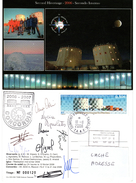 TAAF TERRE ADELIE.CONCORDIA OBL. DUMONT D URVILLE 18 11 2006 SIGNE DES HIVERNANTS  TB. Voir Photo RECTO ET VERSO.