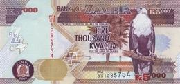 ZAMBIA 5000 KWACHA 2009 P-45e UNC [ZM147e] - Sambia