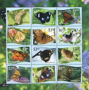 Niuafo'ou MNH Butterflies SS - Vlinders