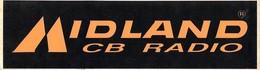 Autocollant - Midland CB RADIO - Stickers