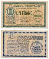 1914-1918 // C.D.C. // FOIX //  Un Franc - Chambre De Commerce