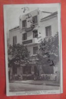 Cp  Rare Hyeres Hotel Restaurant De La Gare Schellino Proprietaire Animé - Hyeres