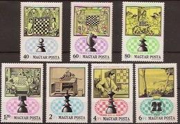 HUNGARY 1974, Chess - Schaken