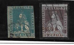 Italia. Estados Italianos. Toscana 7-8 Valor 205 Euros
